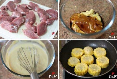 Solomillo ib rico con salsa de miel y mostaza receta for Como preparar solomillo