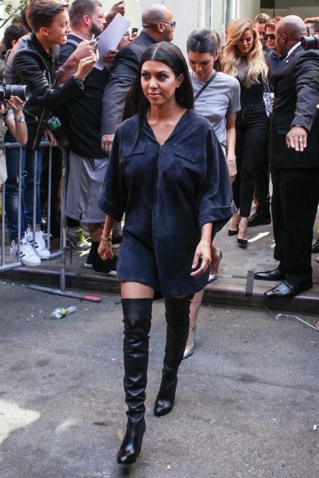 Kourtney Kardashian Yeezy
