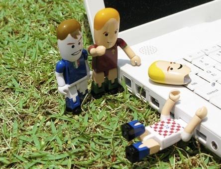 Los jugadores de fútbol con memoria