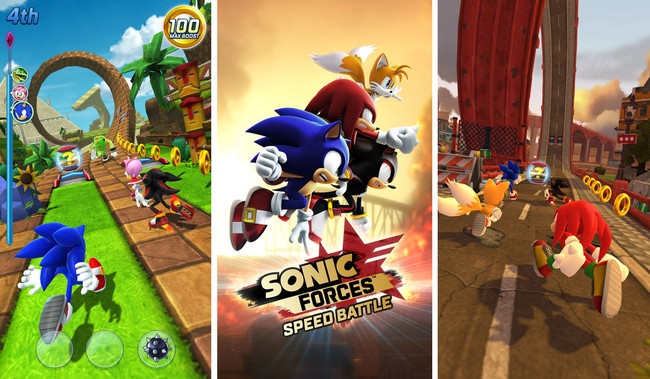 Sonic Forces Speed Battle 01