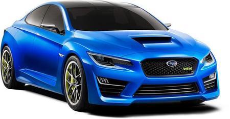 El Subaru WRX Concept estará en el Salón de Frankfurt