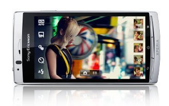 pantalla del nuevo Sony Ericsson Xperia Arc
