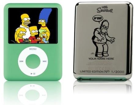 El iPod Nano de los Simpsons