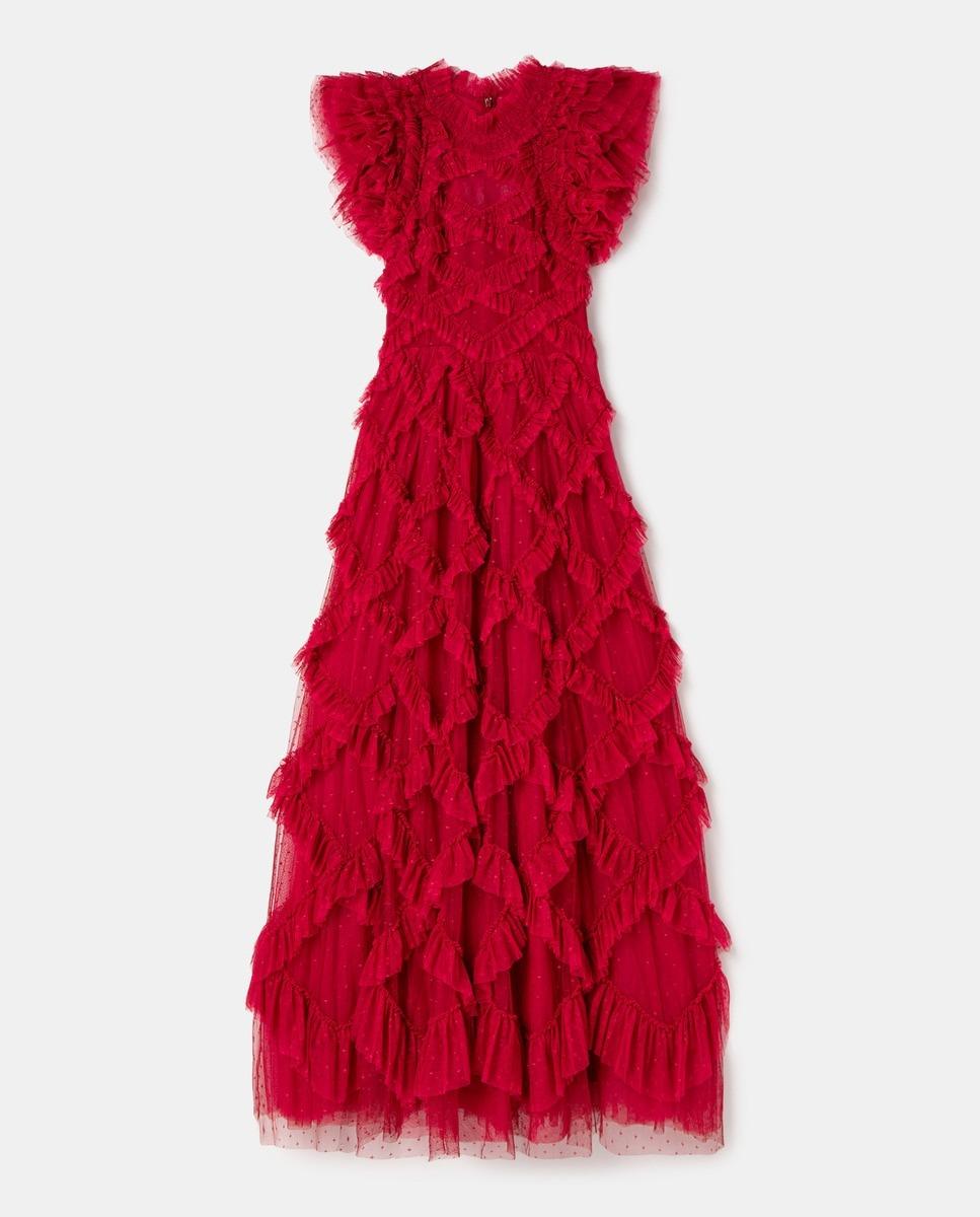 Vestido bordado de Needle & Thread