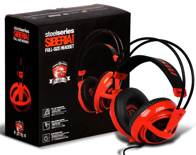 Los nuevos auriculares de MSI son unos SteelSeries 'coloraos'