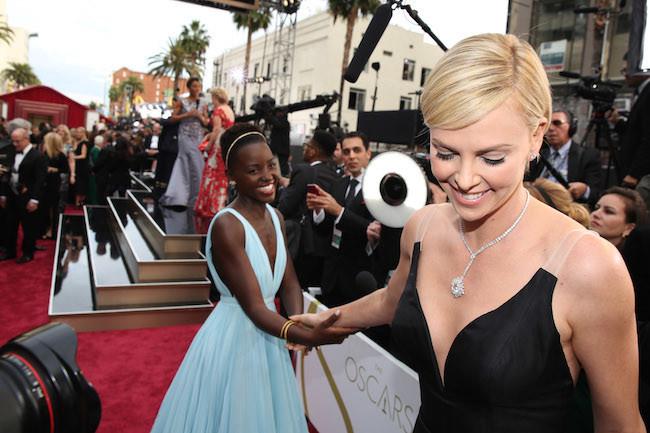 Lupita Charlize Oscar