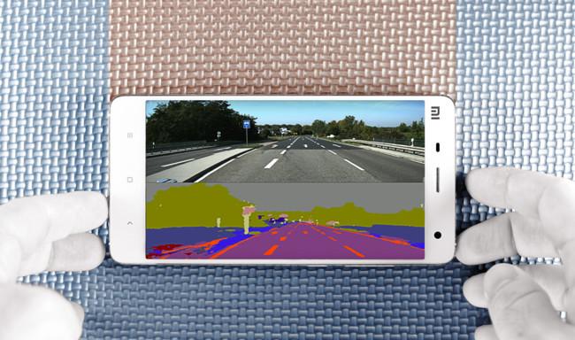 Smartphone Coche Autonomo