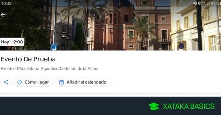 Cómo crear un evento público en Google Maps
