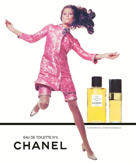 Chanel No. 5 - 1968 - Lauren Hutton