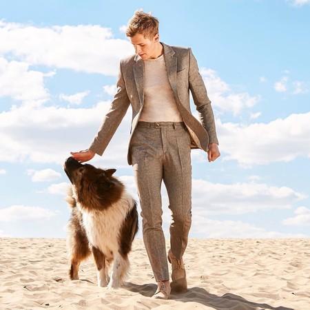 Tan Suit Men Street Style Beige Trendencias Hombre 07