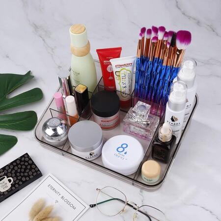 Organizador acrílico de maquillaje