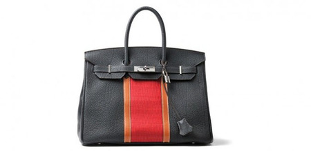 Birkin Club Negra by Christophe Lemaire