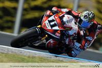 Accidentada salida de la primera manga de superbikes en Phillip Island