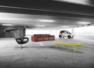 Colaboración entre BoConcept y Smart, orgullosos proveedores de la vida urbana