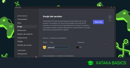 Cómo añadir emojis en tu servidor de Discord