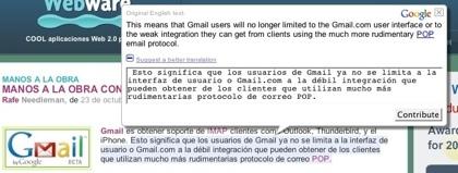 Google utiliza ya su motor de traducciones propio