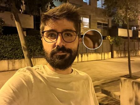 Selfie Angular Corto Noche