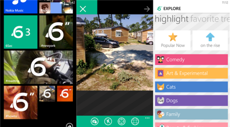 Lanzado 6Sec, cliente no oficial de Vine para Windows Phone