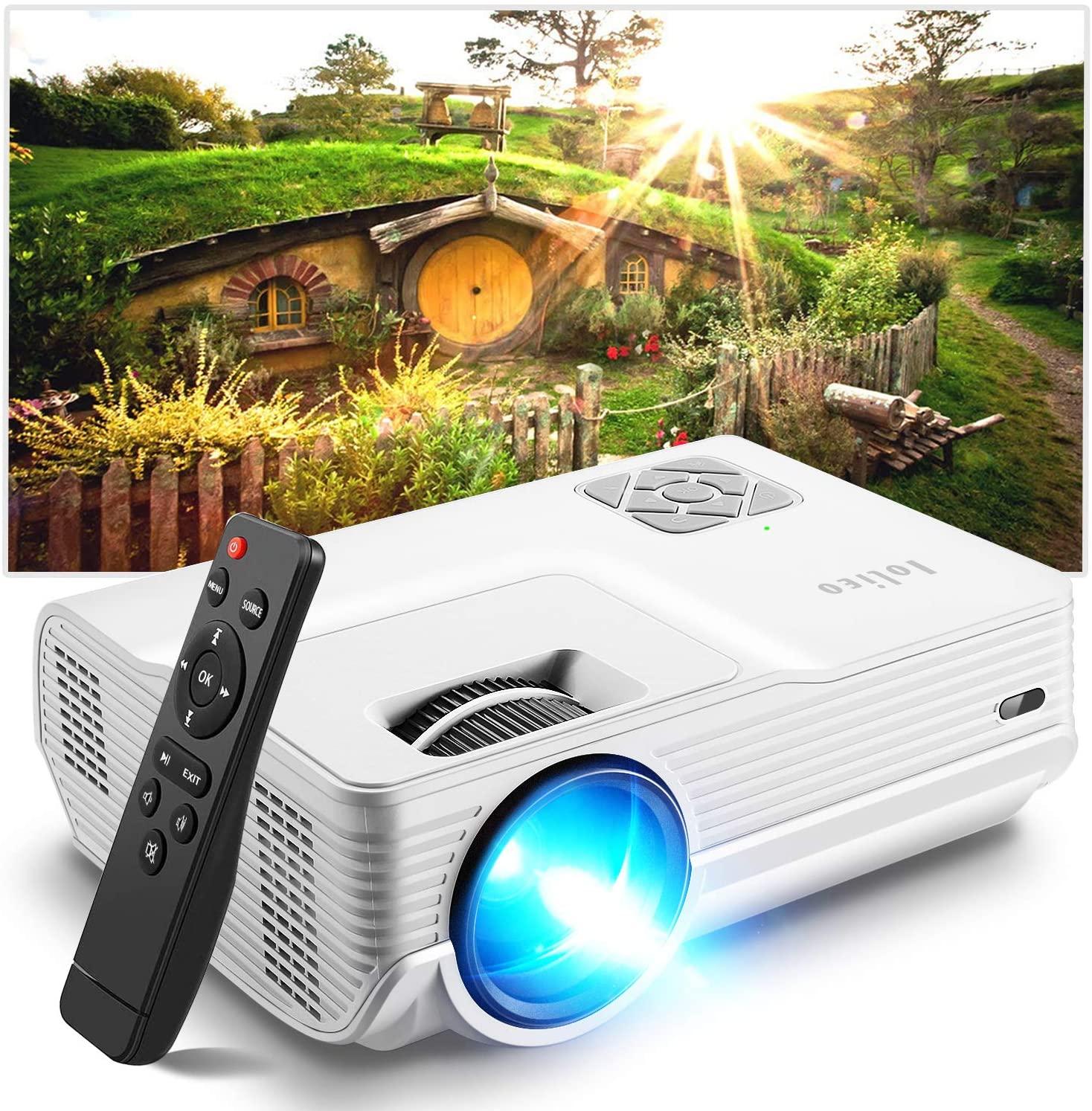 Iolieo mini proyector portátil FX-01 - Actualizado 2021