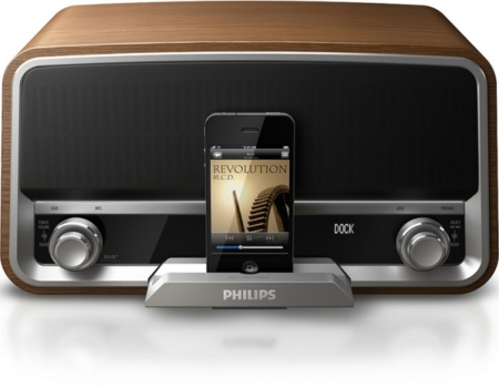 Philips Original Radio: una base dock que enamora a primera vista