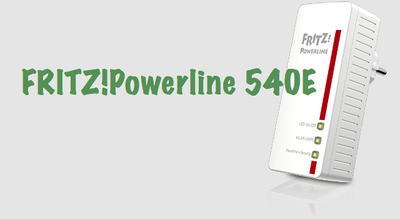 FRITZ!Powerline 540E: WiFi y PLC en un mismo dispositivo
