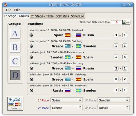 UEFA Euro 2008: aplicación para no perderte nada de la Eurocopa 2008