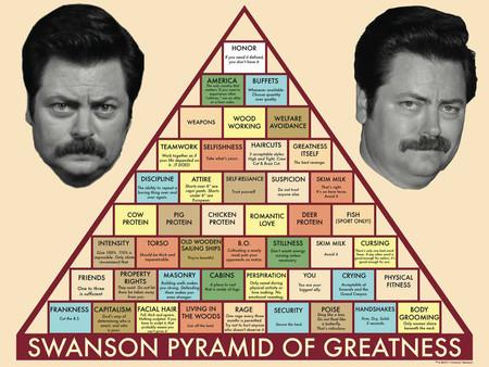 Ron Swanson Piramide