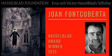 Joan Fontcuberta gana el Premio Internacional de Fotografía de la Fundación Hasselblad 2013
