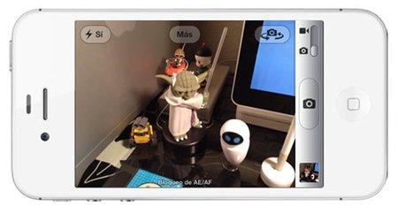 Bloqueo de autofocus y exposición de la cámara del iPhone