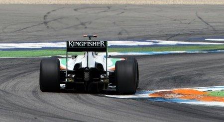 GP de Hungría de Fórmula 1: Force India estrenará escapes bajos con soplado al difusor