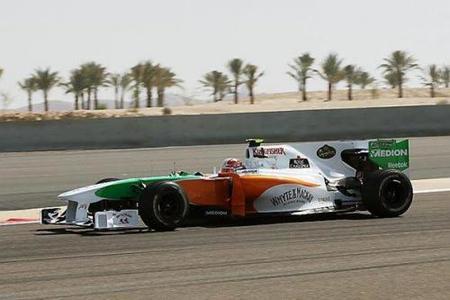 Adrián Sutil y Fernando Alonso los más rápidos de los primeros libres en Bahréin