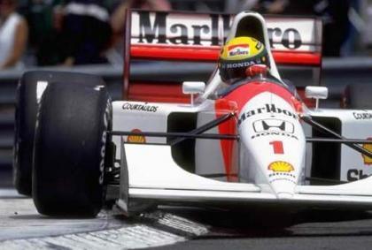 Senna con McLaren