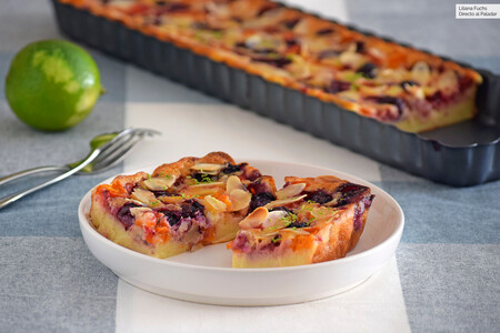 Clafoutis tutti frutti, la sencilla versión  de las Recetas de Julie del postre tradicional francés (con o sin gluten)