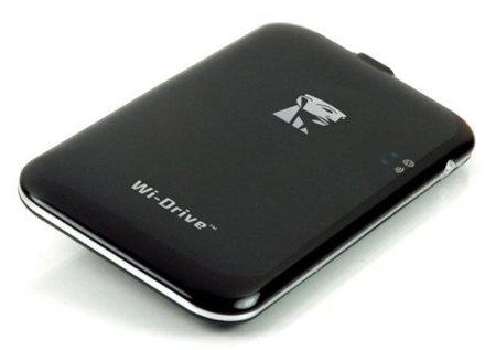 Kingston Wi-Drive, almacenamiento adicional inalámbrico para iPhone