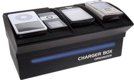 Charger Box, cargadores organizados