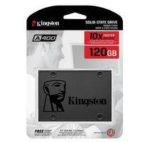 Disco duro SSD Kingston A400, con 120GB de capacidad, a su precio más bajo en Amazon: 27,45 euros