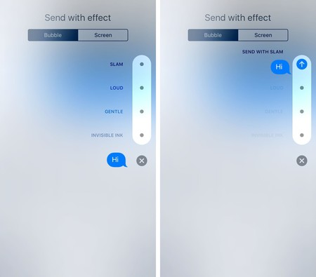 Ios 10 Messages Bubble Effects