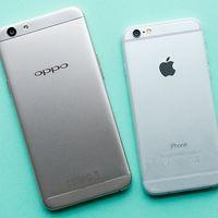 Apple domina un top 5 de ventas en el que se cuelan Oppo y Samsung con dos gamas entrada