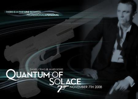'Quantum of Solace' y la publicidad encubierta en las películas de James Bond