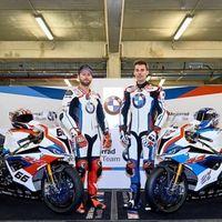 El equipo oficial de BMW en WSBK presenta sus motos para 2019 con Tom Sykes y Markus Reiterberger