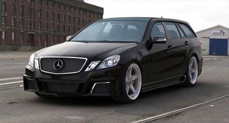 Mercedes Clase E por GWA-Tuning