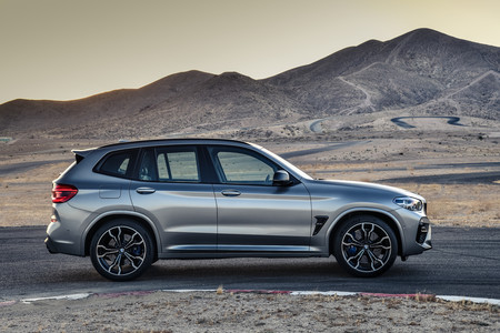BMW X3 M 2020 lateral