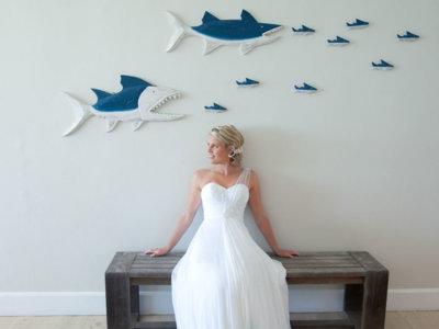 Si te quedas en blanco a la hora de elegir tu vestido de novia ¿te atreverías con el color?