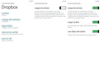 Dropbox ahora permite subir automáticamente las fotos que tomemos con nuestro Windows Phone