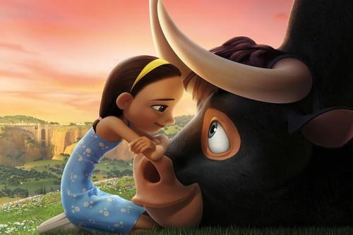 'Ferdinand', un pasatiempo familiar donde lo único especial es que hay un toro amante de las flores