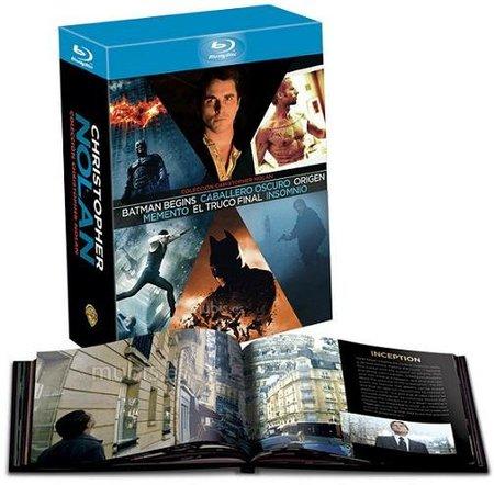 Imagen del pack 'Colección Christopher Nolan'