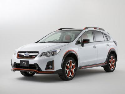 El Subaru XV Hybrid STI Concept podría ser el XV más deportivo