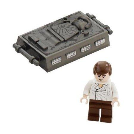 Han Solo carbonizado en formato Lego