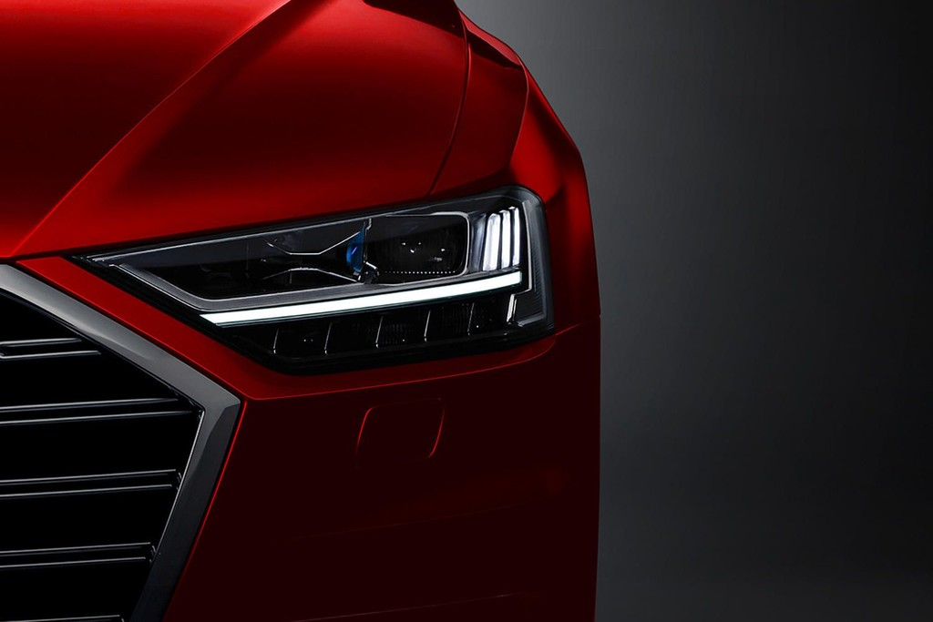 2018 Audi A8 Teaser Promo