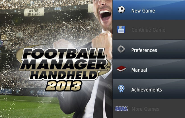 Football Manager Hadheld